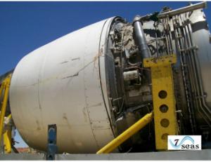 Aircraft engine transportation